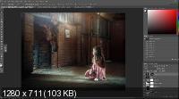 Сборник авторских видео уроков по художественной обработке фото (2017)