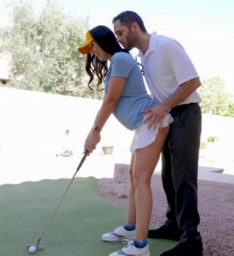 Rachel Starr - Rachel Starr Fucks Her Golf Instructor (2017) HD 720p