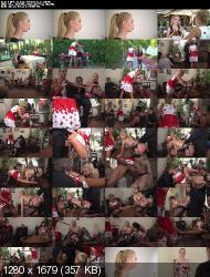 PublicDisgrace/Kink: Cherry Kiss, Isabella Clark - Humiliated Whore Isabella Clark Disgraced and Anally Fucked in Public (HD/720p/1.55 Gb)