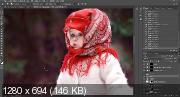 Зимний лес. Обработка в фотошоп (2017) HDRip