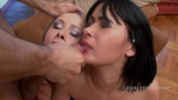 [Legalporno.com] Miki, Luisa - Miki & Luisa in anal threesome NR300 [2017 г.,  1080p]