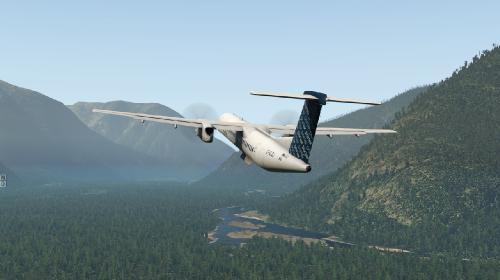 X10] - [X11] - FlyJSim, Bombardier Dash 8 Q400 (Turboprop