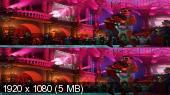 Без черных полос (На весь экран)  Тайна Коко 3D / Coco 3D   Вертикальная анаморфная стереопара