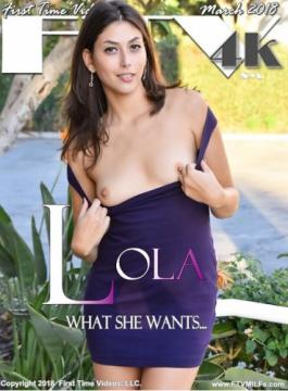 Lola (What She Wants - Latina Desire) (2018) UltraHD 2160p
