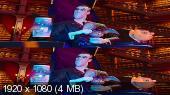 Без черных полос (На весь экран) Мы – монстры 3D / Happy Family 3D  Вертикальная анаморфная стереопара