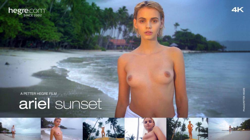 [Hegre.com] 2018-08-21 Ariel - Sunset [Erotic, Solo, 1080p]