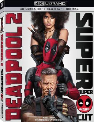 Дэдпул 2 / Deadpool 2 (2018) Blu-ray 2160p | 4K | HDR | Расширенная версия | Лицензия
