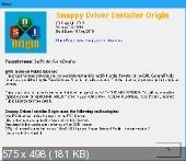 Snappy Driver Installer Origin 1.4.7.694 32-64 bit Portable