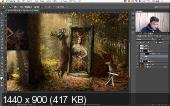 Adobe Photoshop - Творческая ретушь. Новый поток. Видеокурс (2018)